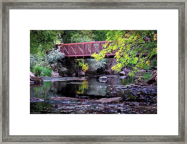 Ogden River Bridge Framed Print