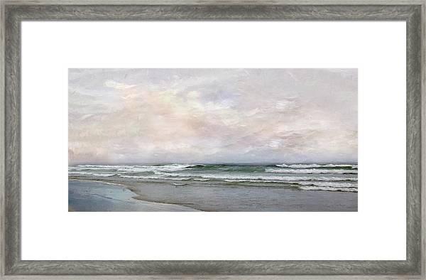 Ogunquit Sunset Framed Print
