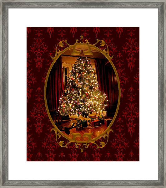 Oh Christmas Tree Framed Print