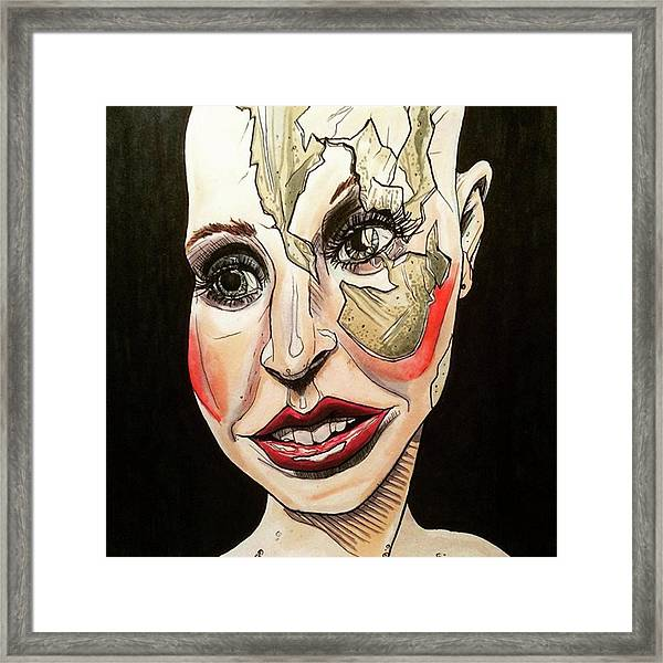 Oh, I'm Feeling 100 Times Better Framed Print by Russell Boyle