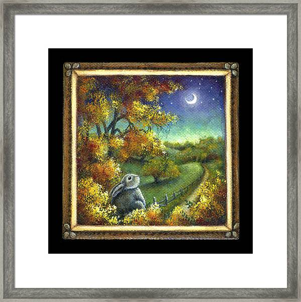 Oh The Possibilities Framed Print