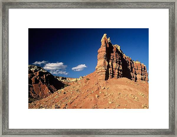 Okeefe Country Framed Print
