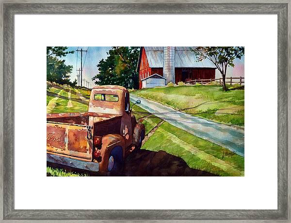 Ol '54 Framed Print