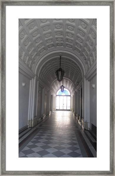 Old Arc In Belgrade Framed Print