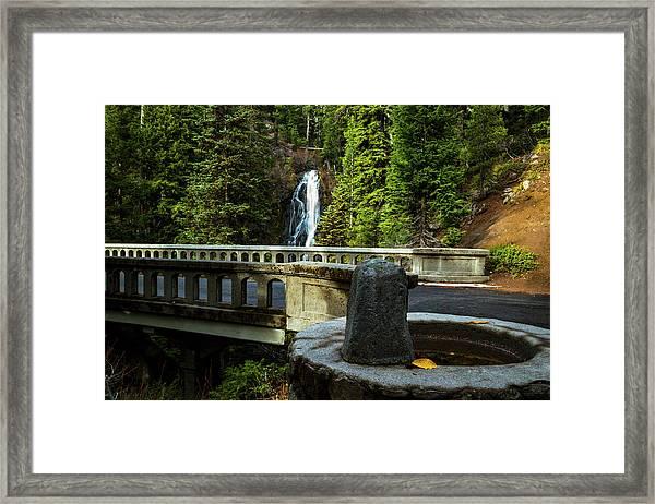 Old Barlow Road Bridge Framed Print