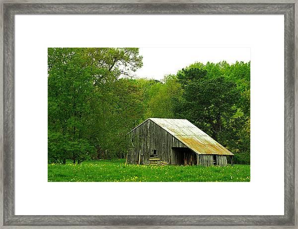 Old Barn V Framed Print