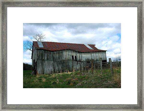 Old Barn Xiii Framed Print