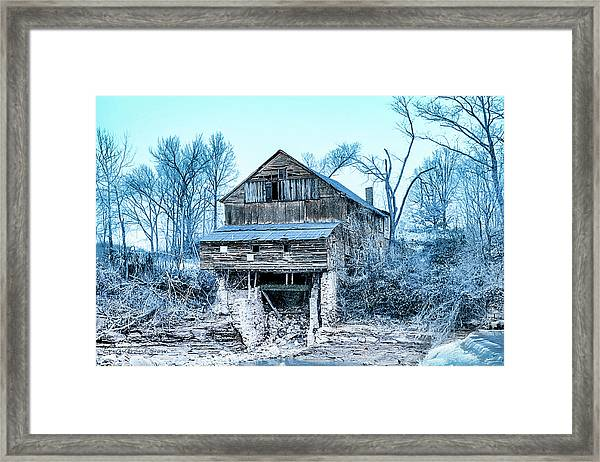 Old Blackiston Mill Framed Print