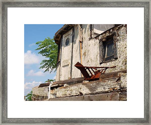 Old Boat 2 Framed Print by James Granberry