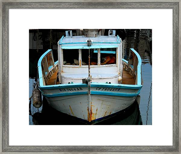 Old Boat Framed Print