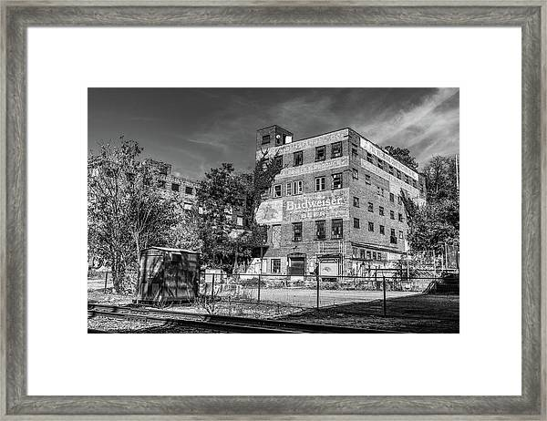 Old Brewery Framed Print