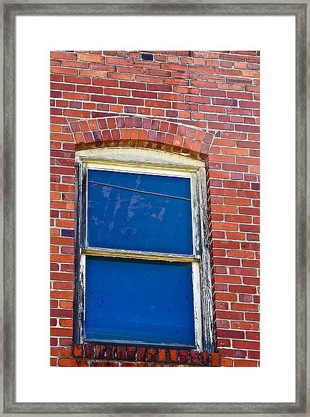 Old Brick Building Framed Print
