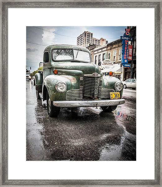 Old But Rolling Framed Print