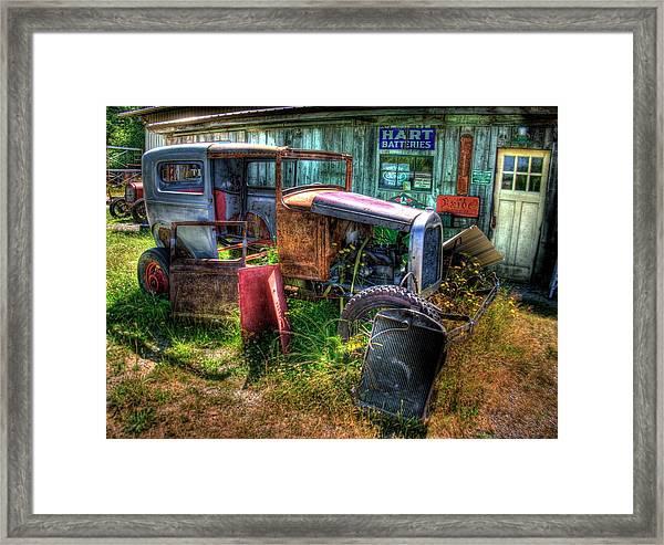 Old Car 3 Framed Print