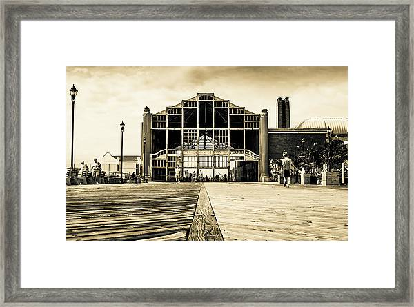 Old Casino Framed Print