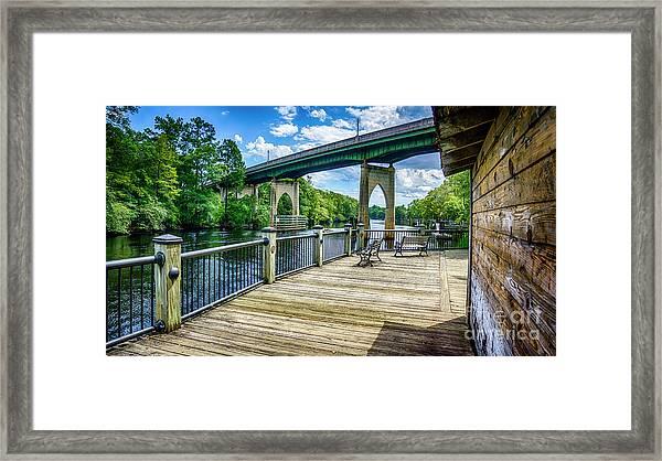 Old Conway Bridge Framed Print