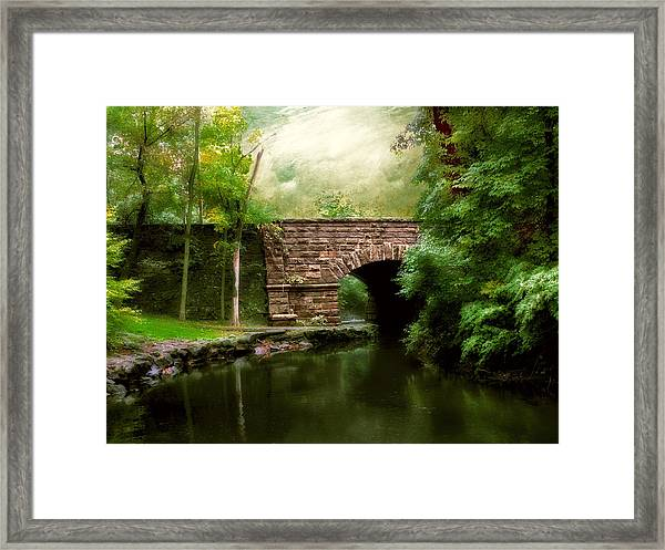 Old Country Bridge Framed Print
