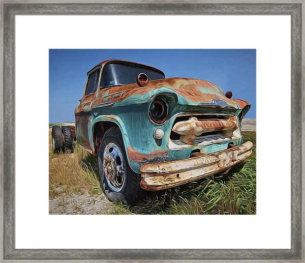 Old Friend Framed Print