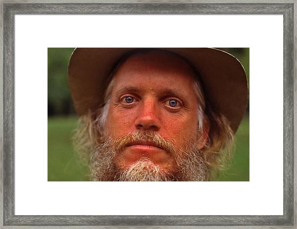 Old Geezer - 1 Framed Print by Randy Muir