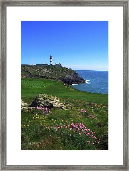 Old Head Of Kinsale Lighthouse Framed Print