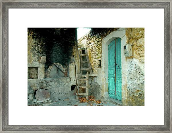 Old House With Woodoven Framed Print