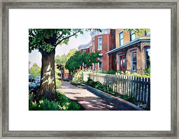Old Iron Porch Framed Print