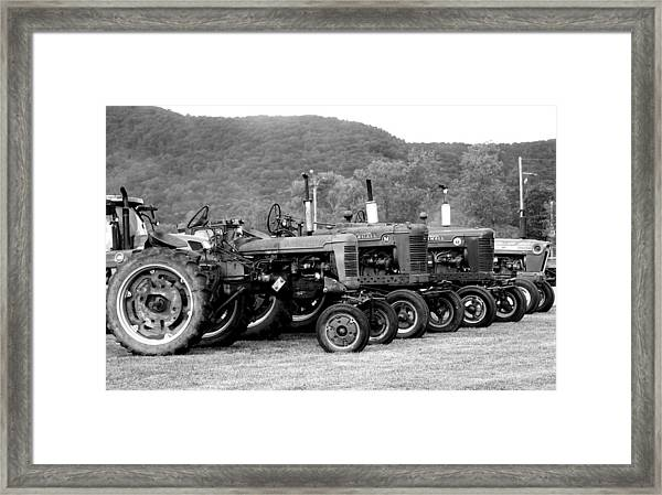 Old Iron Framed Print