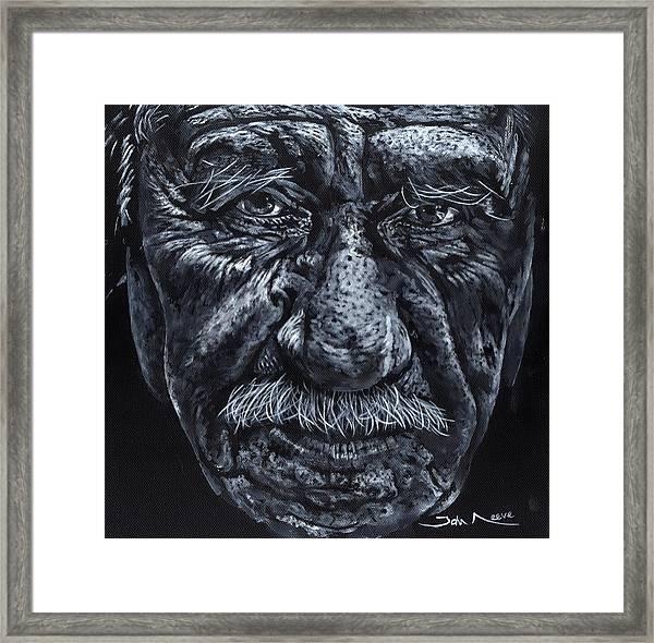 Old Joe Framed Print