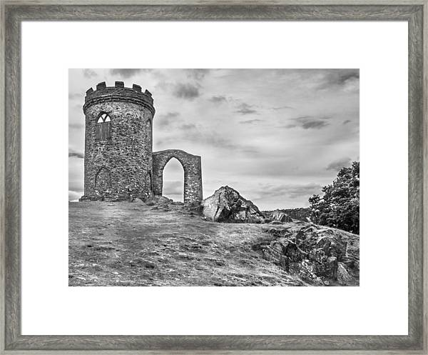 Framed Print featuring the photograph Old John Folly by Nick Bywater