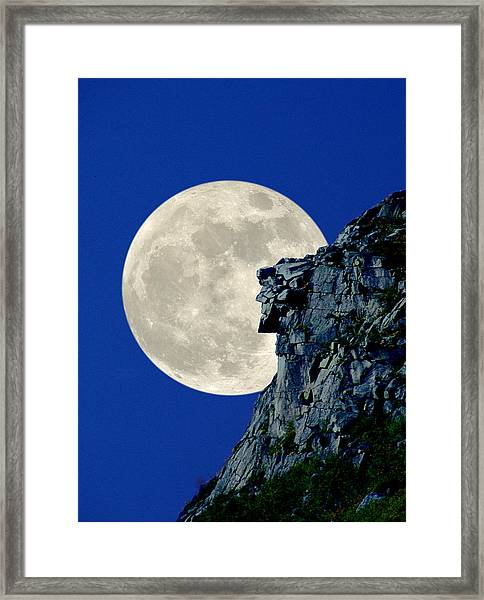Old Man Vertical Framed Print