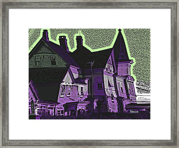 Old Meets New Framed Print