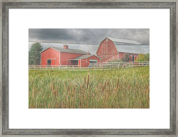 0033 - Old Meets New Framed Print