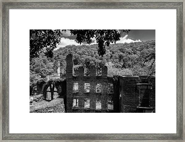old Mill 3 Framed Print