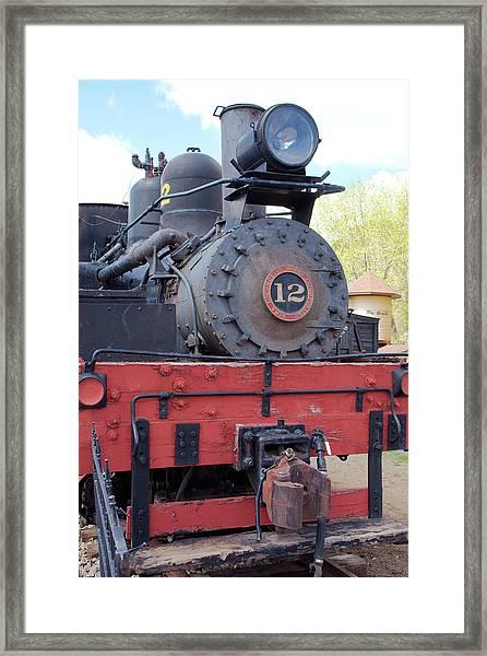 Old Number Twelve Framed Print