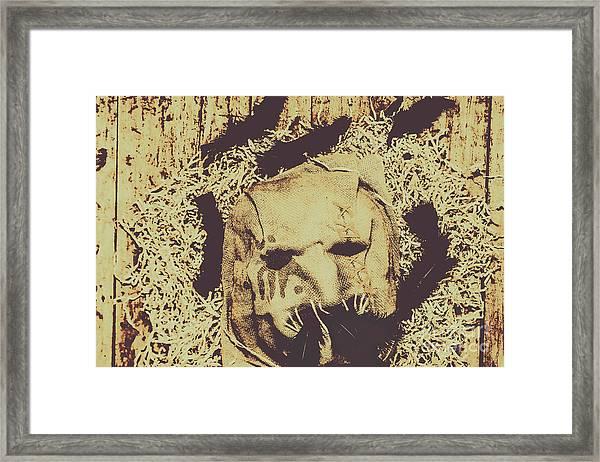 Old Outback Horrors Framed Print