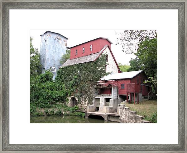 Old Oxford Mill Framed Print