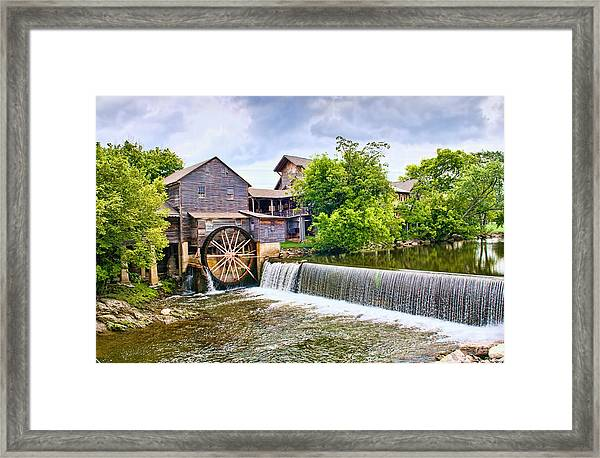 Old Pigeon Forge Mill Framed Print
