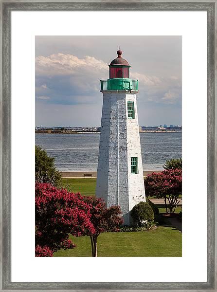 Old Point Comfort Light Framed Print