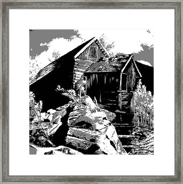 Old Rocky Mill Framed Print