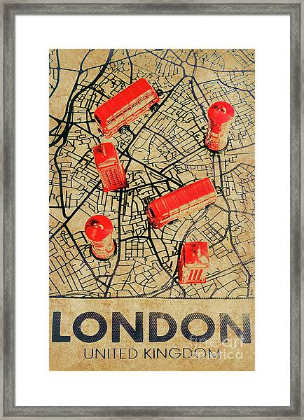 Old Routemaster Way Framed Print