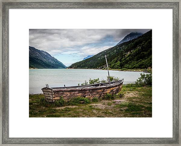 Old Sailboat Framed Print