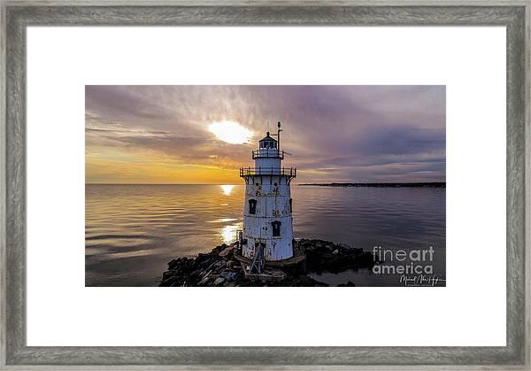 Old Saybrook Outer Light Framed Print