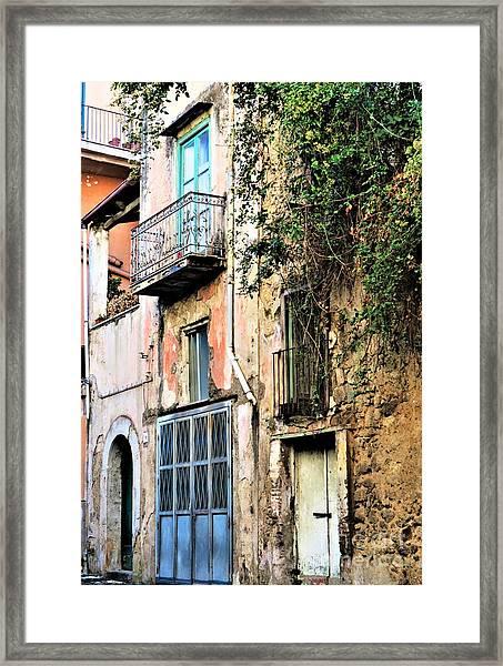 Old Sorrento Street Framed Print