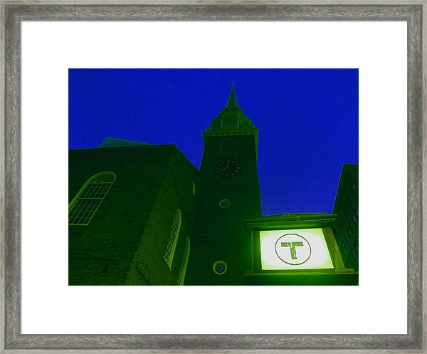 Old South Meeting House Framed Print