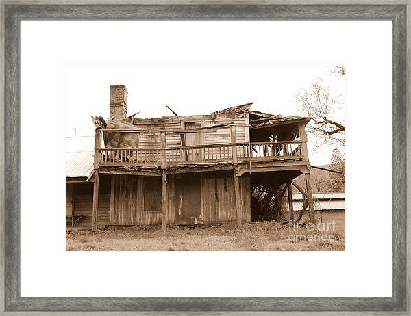 Old Stagecoach Stop Framed Print