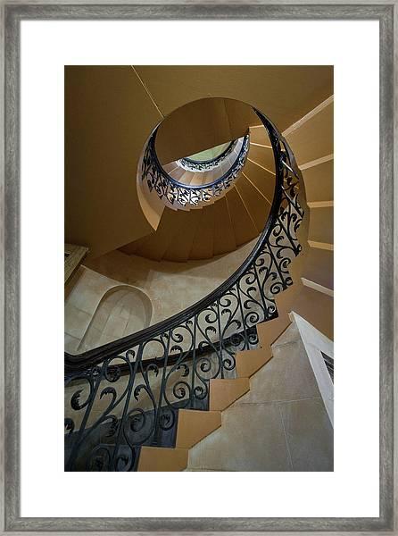 Old Stairway Framed Print