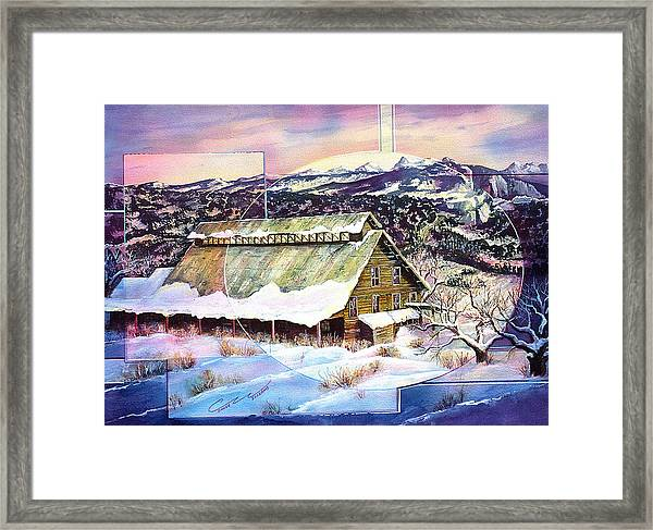 Old Stelty Packing Shed Framed Print
