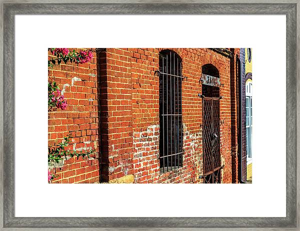 Old Town Jail Framed Print