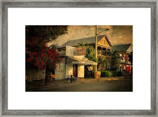 Old Town -  Key West Florida Framed Print