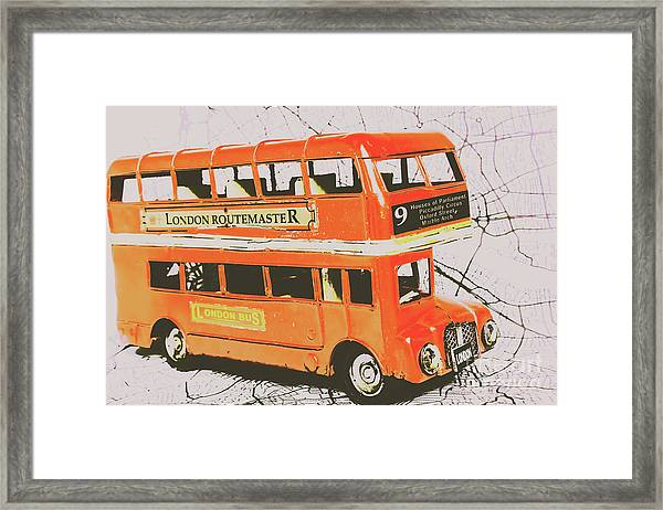 Old United Kingdom Travel Scene Framed Print